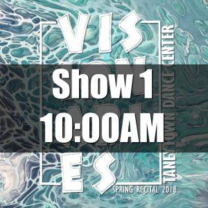 2018 Show 1 Tickets