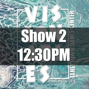 2018 Show 2 Tickets