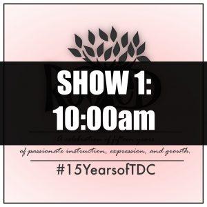 2019 Show 1 Tickets