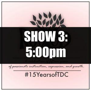 2019 Show 3 Tickets