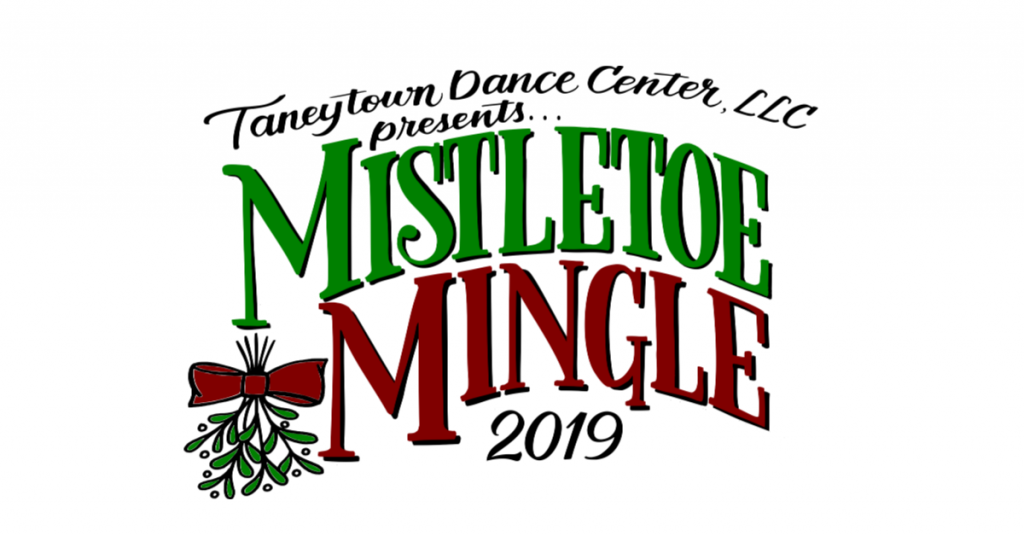Taneytown Dance Center holiday performance Mistletoe Mingle reception at the tannery barn